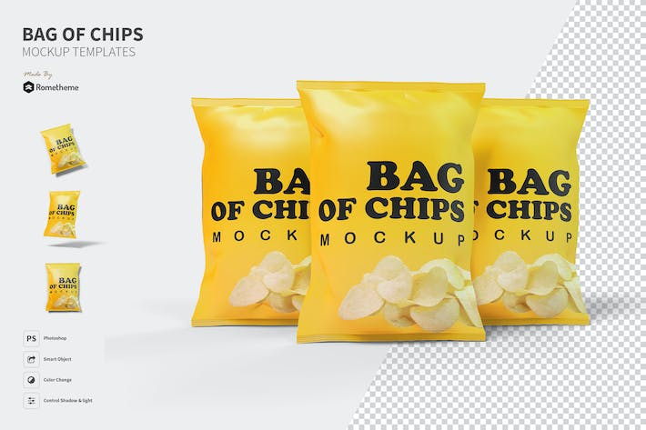 Thumbnail for Bag of Chips - Mockup FH