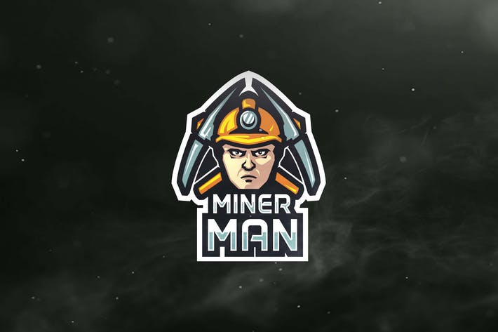 Thumbnail for Miner Man Sport and Esports Logos
