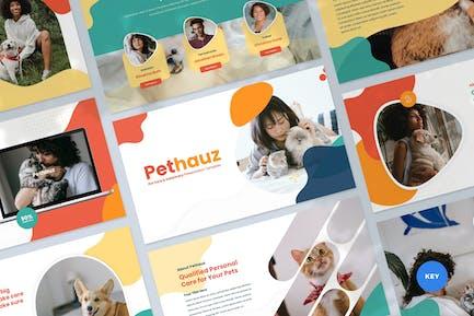Pet Care Keynote Presentation Template