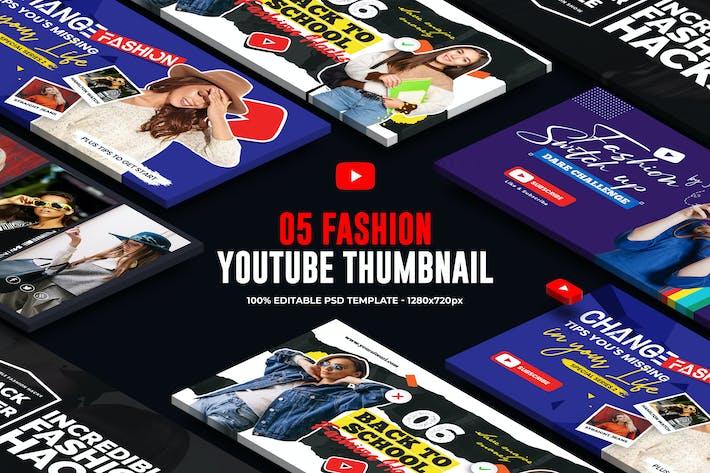 Thumbnail for Fashion Youtube Thumbnail