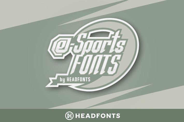 Thumbnail for eSports Font Bundle