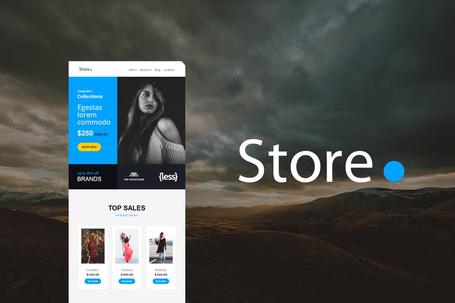 Store Mail - Responsive E-mail Template