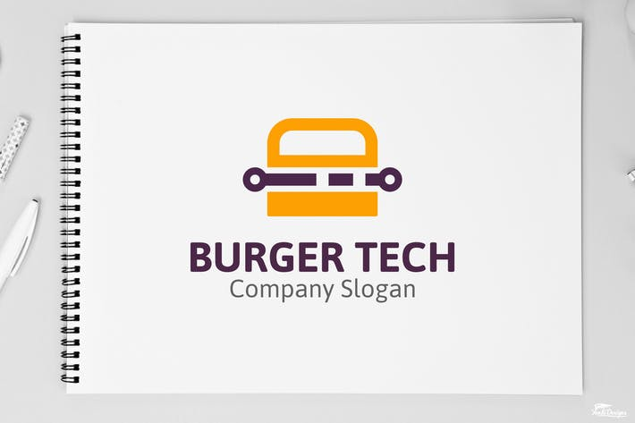 Thumbnail for Burger Tech Logo
