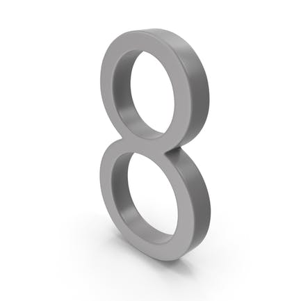 Number 8 Grey