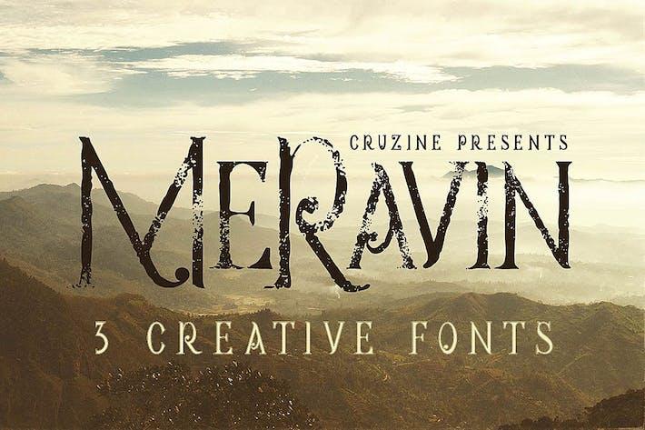 Thumbnail for Meravin Typeface