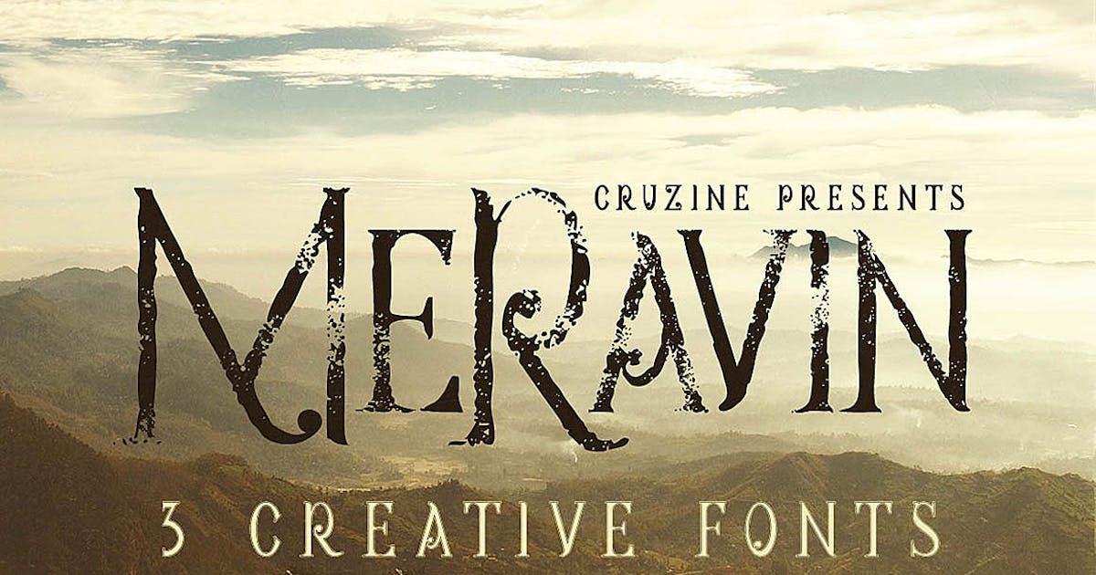 Download Meravin Typeface by cruzine