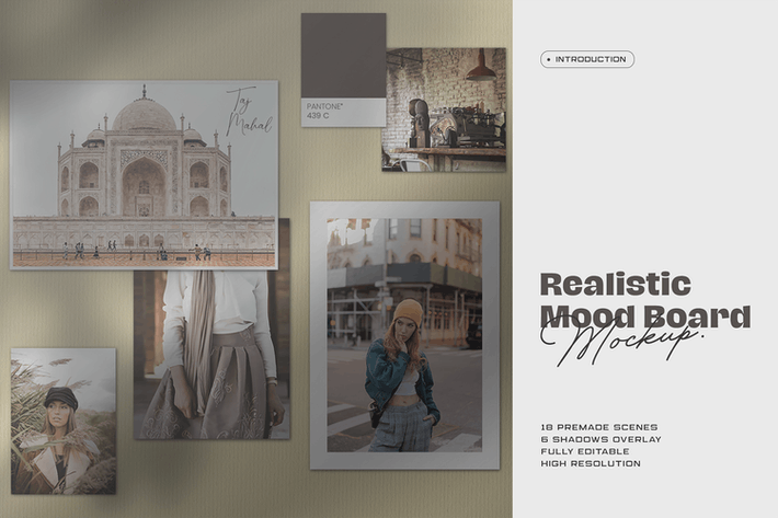 Cover Image For Moodboard Mockup Kit