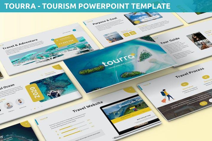 Toura - Шаблон Powerpoint для туризма