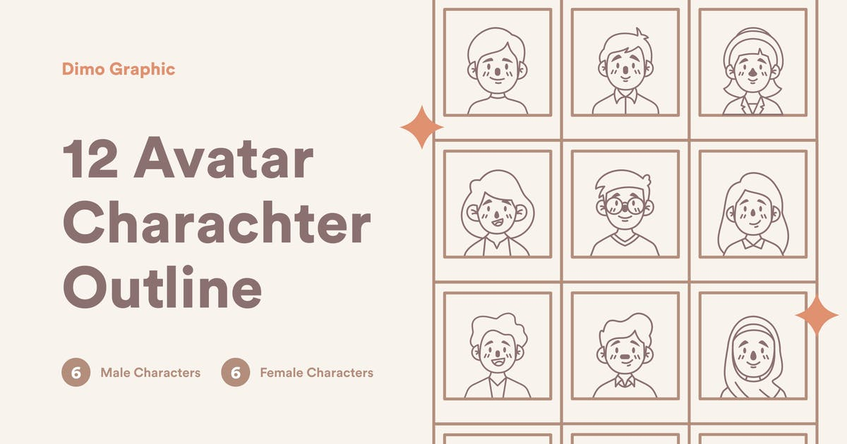 Download Avatar Icon Line UZ by DimoGraphic