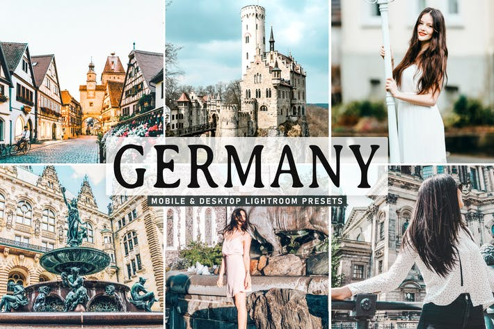 Thumbnail for Germany Mobile & Desktop Lightroom Presets