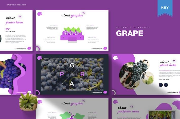 Thumbnail for Grape   Keynote Template