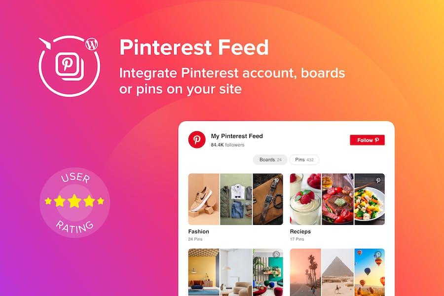WordPress Pinterest Feed Plugin