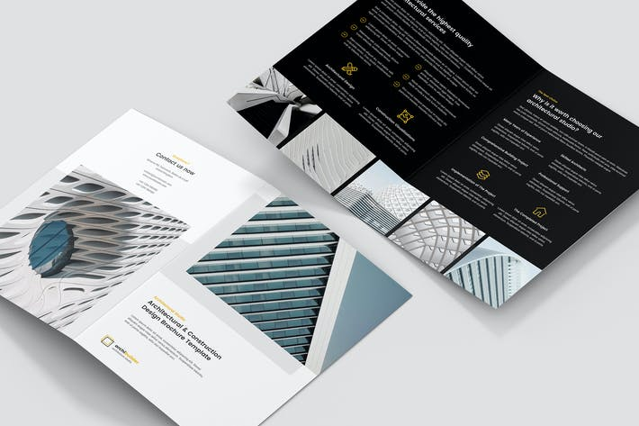 Thumbnail for Brochure – Architect Bi-Fold