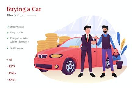 Comprar una ilustración de coche