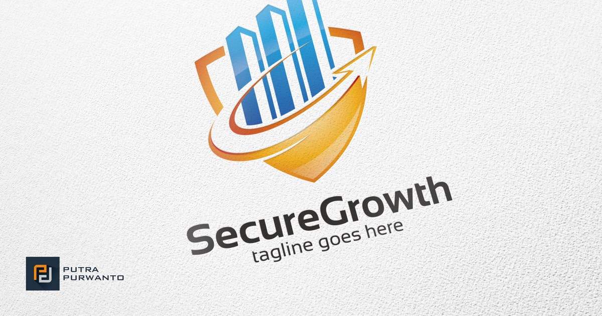 Download Secure Growth - Logo Template by putra_purwanto