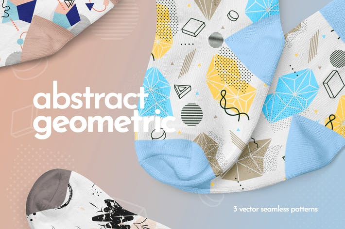 Thumbnail for Abstract Geometric Seamless Patterns