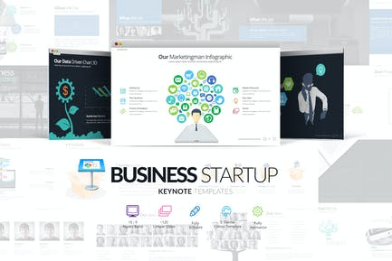 Business Startup Keynote Template