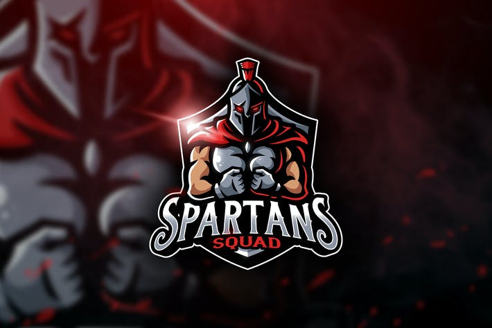 Thumbnail for Spartans Squad - Mascotte & Logo Esport