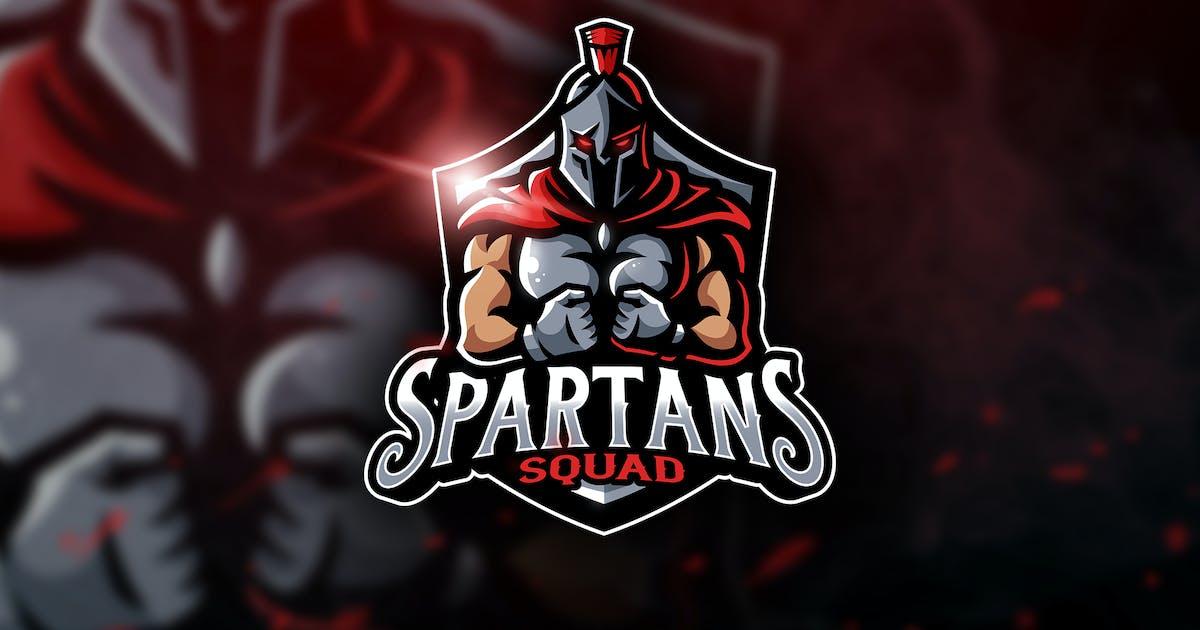 Download Spartans Squad - Mascot & Esport Logo by aqrstudio