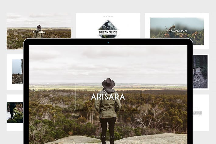 Thumbnail for Arisara - Travel Powerpoint Template