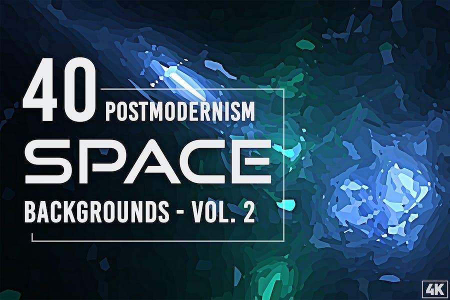 40 Hintergründe des Weltraums der Postmoderne - Band 2
