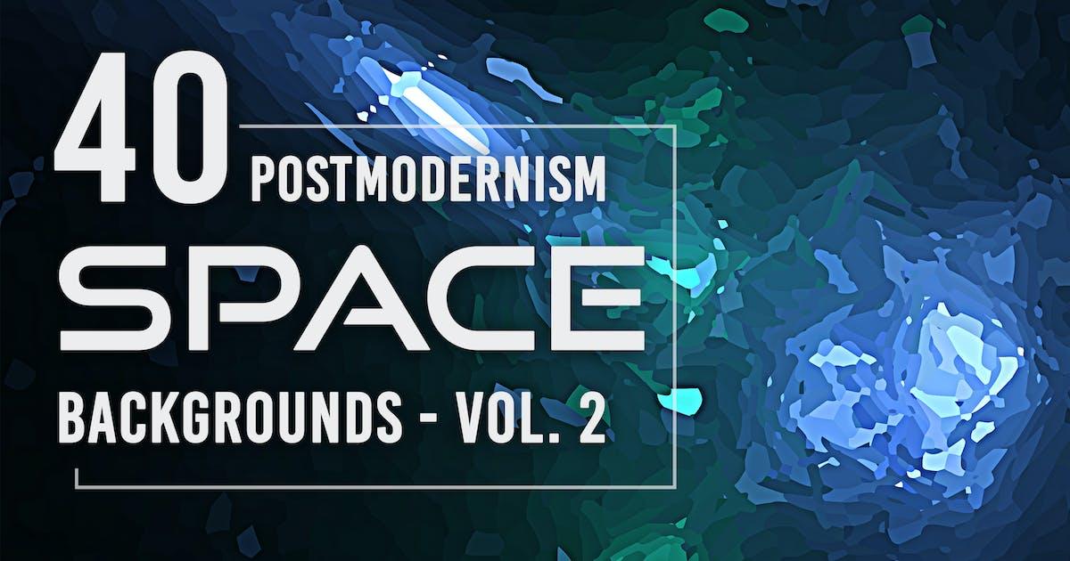 Download 40 Postmodernism Space Backgrounds - Vol. 2 by Eldamar_Studio