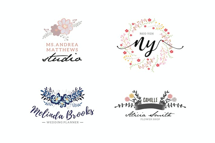 Cover Image For Floral Business Logos
