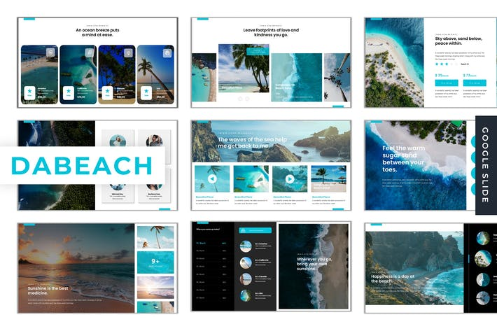 Thumbnail for Dabeach - Google Slides Template