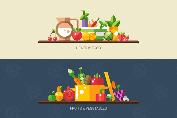 Healthy Food - Fruits & Vegetables