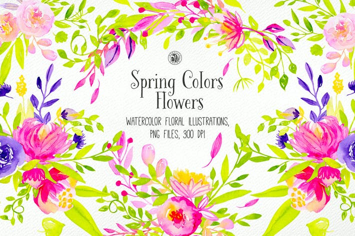Thumbnail for Spring Colors Flowers