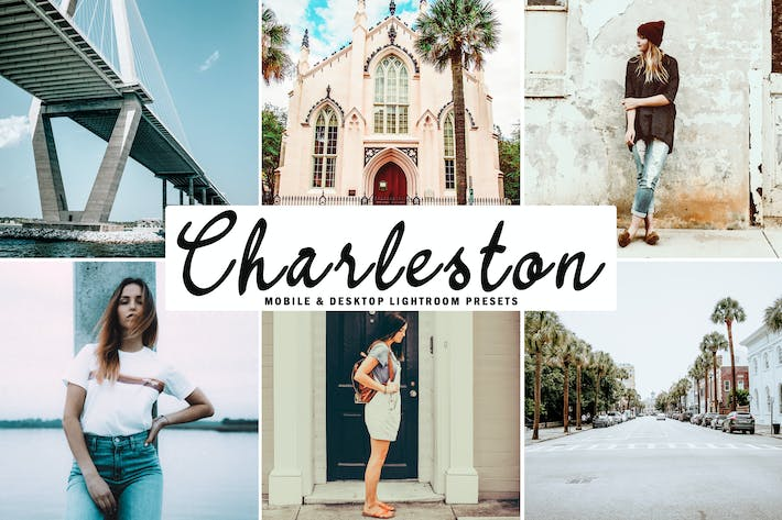 Thumbnail for Charleston Mobile & Desktop Lightroom Presets
