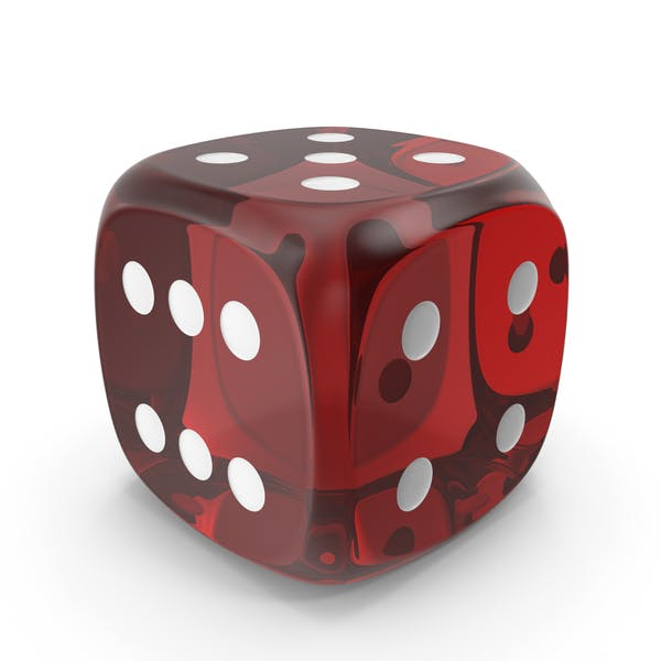 Thumbnail for Red Six Sided Die