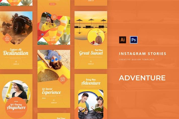 L' histoire d'Instagram d'aventure