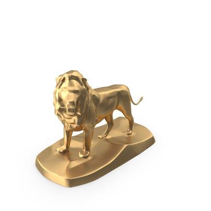 Löwen-Statue