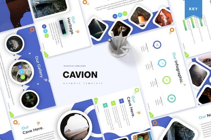 Thumbnail for Cavion | Шаблон Keynote