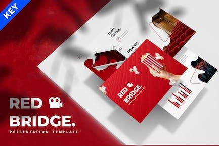Red Bridge - Cinema Keynote Template