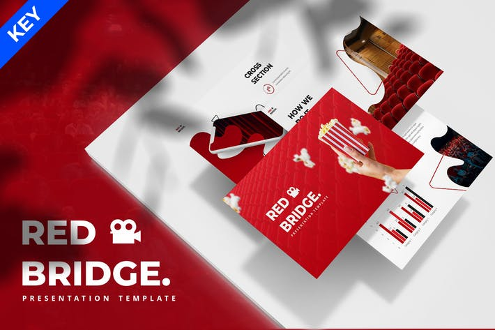 Red Bridge - Cinema Keynote Template