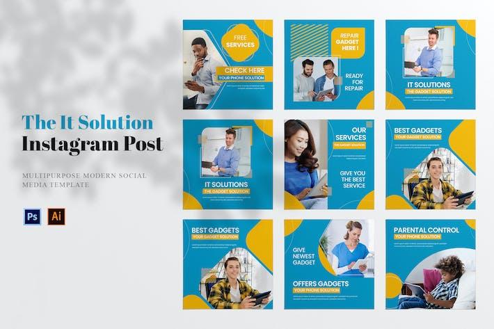IT-Lösung Social Media Post