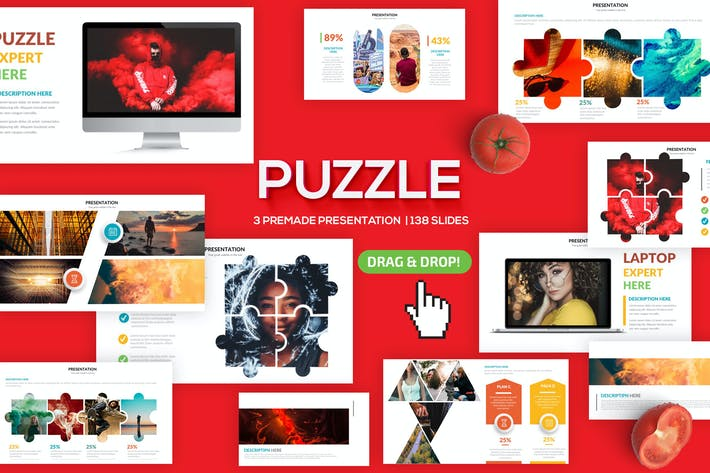 Thumbnail for Puzzle Powerpoint Presentation