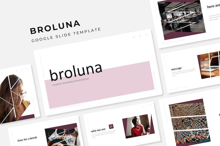 Thumbnail for Broluna - Google Slide Template