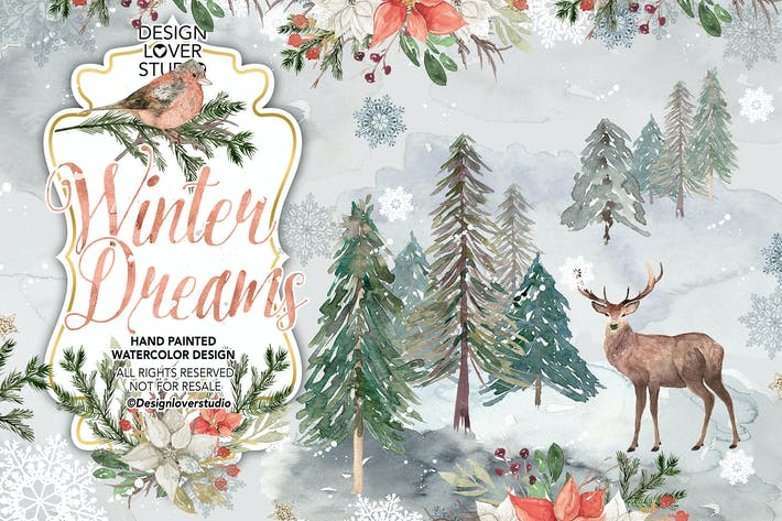 Thumbnail for Winter Dreams design