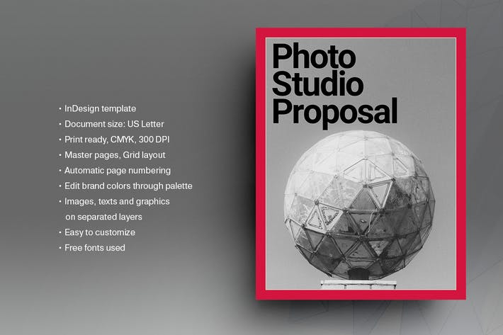 Thumbnail for Photography Proposal Template