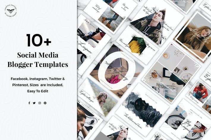 Thumbnail for Social Media Blogger Templates