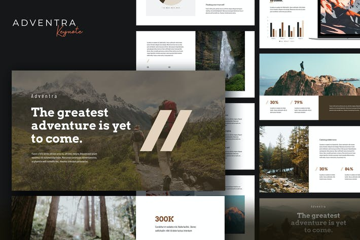 Thumbnail for Adventra - Travel & Adventure Keynote Template