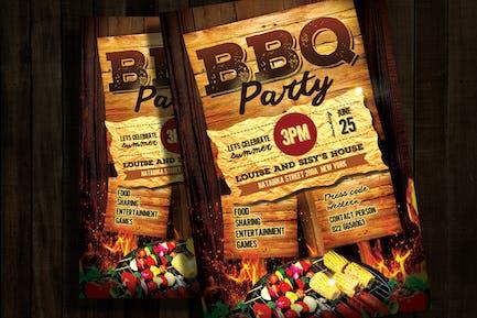 BBQ Einladung