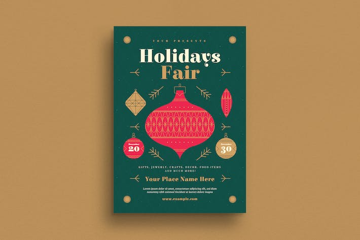 Cover Image For Holiday sFair Flyer