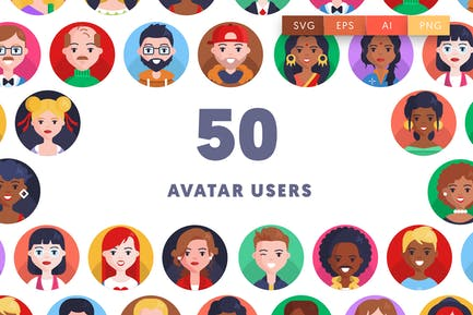 Avatar Users Icons