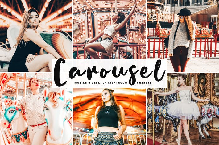 Thumbnail for Carousel Mobile & Desktop Lightroom Presets