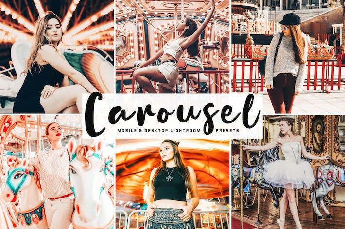 Thumbnail for пресеты Carousel для мобильных и настольных компьютеров Lightroom