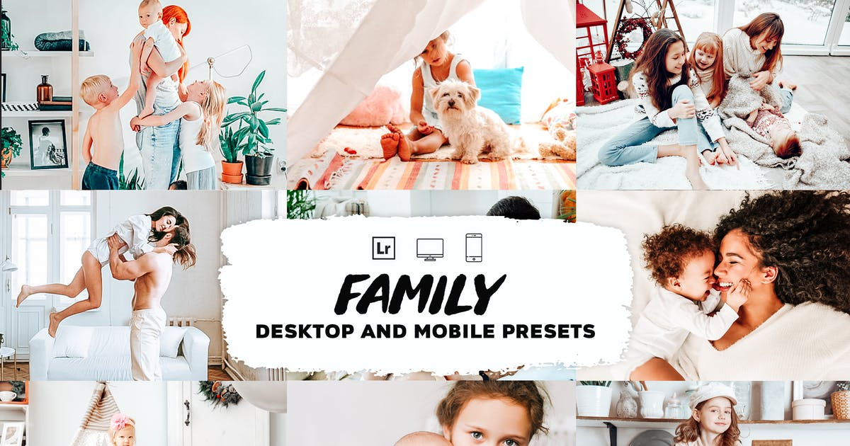 Download Family Lightroom Presets by Presetsh